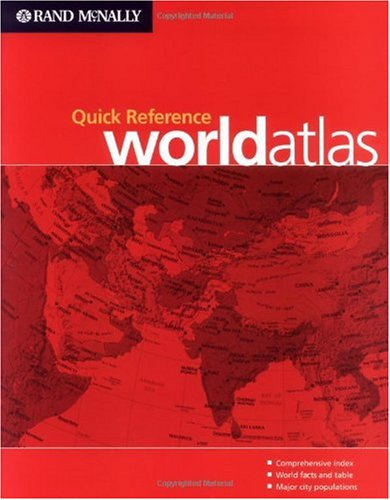 Atlas Quick Reference World Atlas 1st edition cover