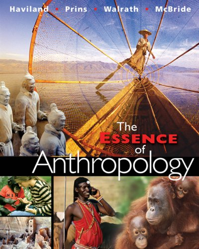 Essence of Anthropology   2007 edition cover