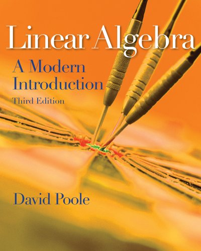 Linear Algebra A Modern Introduction 3rd 2011 edition cover