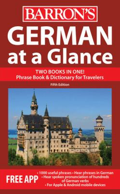 German at a Glance  5th 2012 (Revised) edition cover