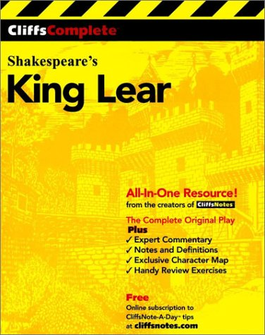 King Lear  2nd 2000 edition cover