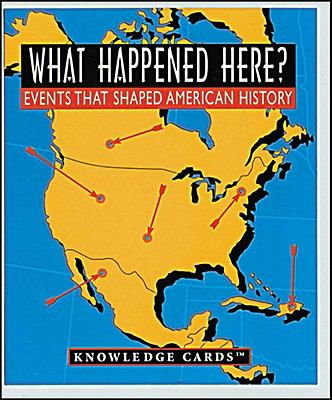 WHAT HAPPENED HERE? KNOWLEDGE N/A edition cover