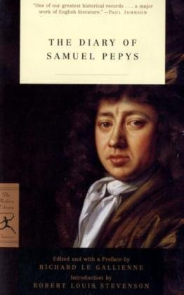 Diary of Samuel Pepys  N/A edition cover