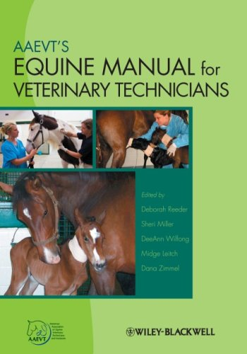 Equine Manual for Veterinary Technicians   2009 edition cover