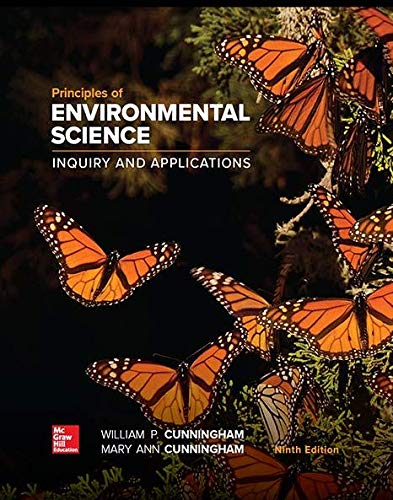 PRINCIPLES OF ENVIRON.SCIENCE           N/A 9781260219715 Front Cover