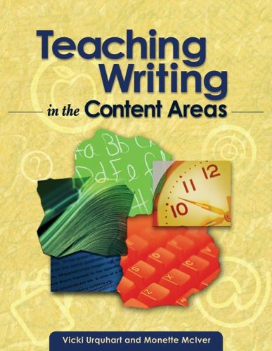 Teaching Writing in the Content Areas   2005 edition cover