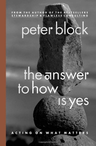 Answer to How Is Yes Acting on What Matters  2003 edition cover