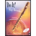 Do It! Play Recorder 1st 1996 edition cover