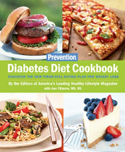Diabetes Diet Cookbook Discover the New Fiber-Full Eating Plan for Weight Loss  2008 edition cover
