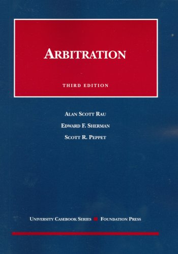 Arbitration  3rd 2006 (Revised) edition cover