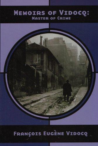 Memoirs of Vidocq Master of Crime  2003 edition cover