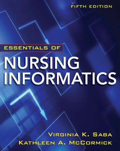 Nursing Informatics  5th 2011 edition cover