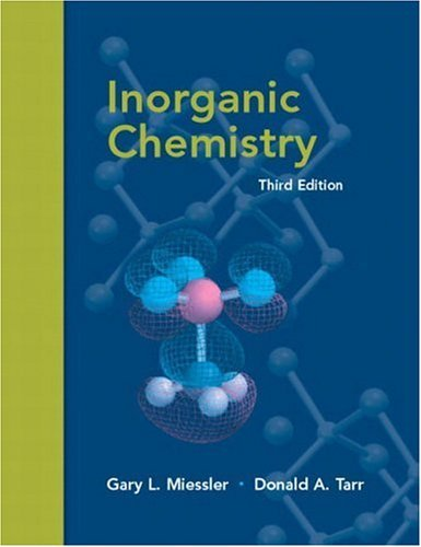 Inorganic Chemistry  3rd 2004 (Revised) edition cover