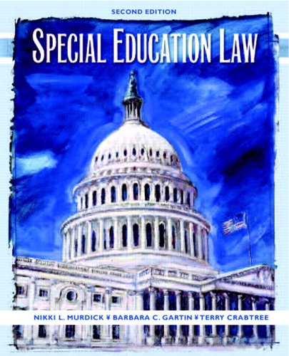 Special Education Law  2nd 2007 (Revised) edition cover