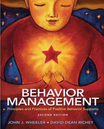 Behavior Management Principles and Practices of Positive Behavior Supports 2nd 2010 edition cover
