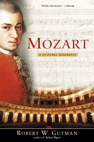 Mozart A Cultural Biography  1999 edition cover