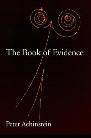 Book of Evidence   2004 9780195171716 Front Cover