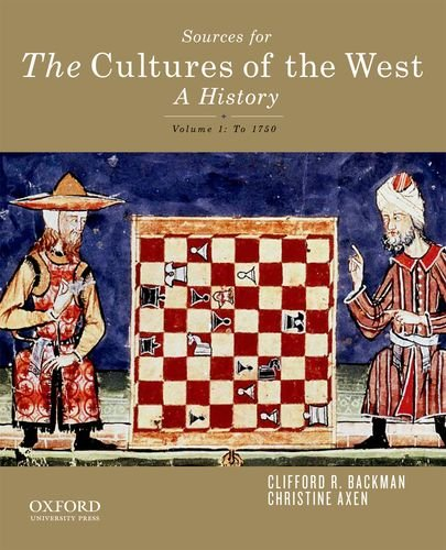Cultures of the West - A History  N/A edition cover