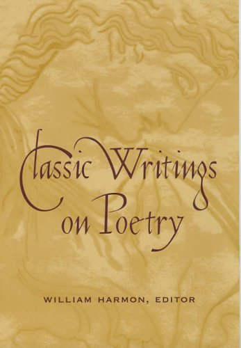 Classic Writings on Poetry   2005 9780231123716 Front Cover