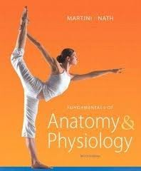 Fundamentals of Anatomy and Physiology  9th 2012 edition cover