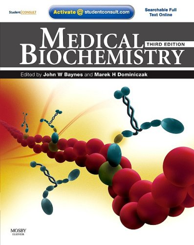 Medical Biochemistry With STUDENT CONSULT Online Access 3rd 2009 edition cover