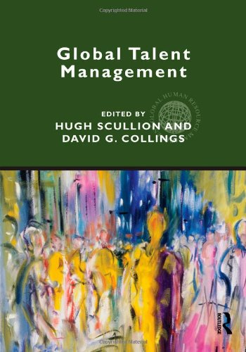 Global Talent Management   2011 edition cover