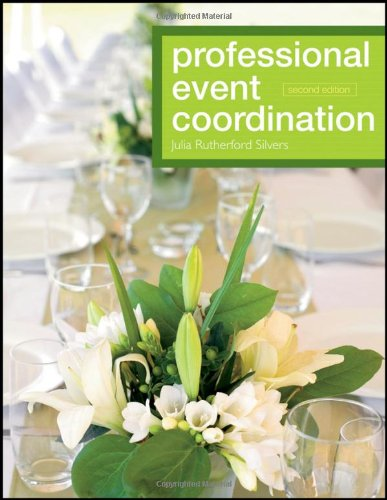 Professional Event Coordination  2nd 2012 edition cover