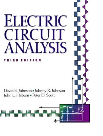 Electric Circuit Analysis  3rd 1997 edition cover