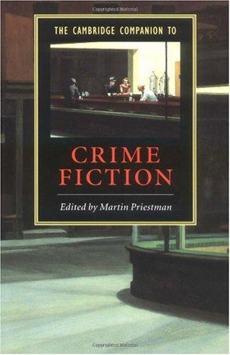 Cambridge Companion to Crime Fiction   2003 edition cover
