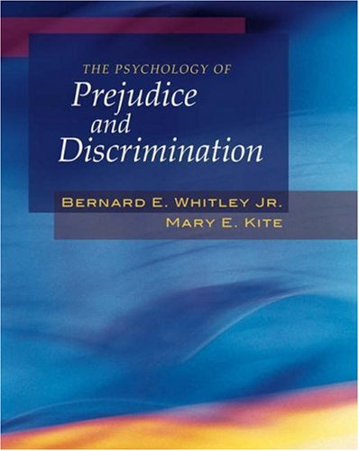Psychology of Prejudice and Discrimination   2006 edition cover