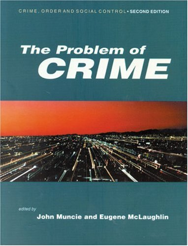 Problem of Crime  2nd 2001 (Revised) 9780761969716 Front Cover