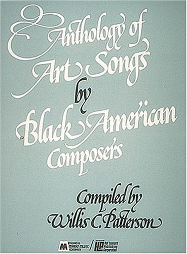 Anthology of Art Songs by Black American Composers  N/A edition cover