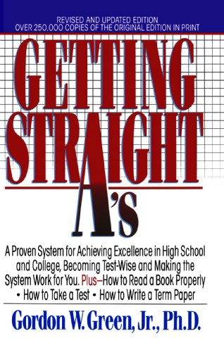 Getting Straight A's   1996 (Revised) edition cover