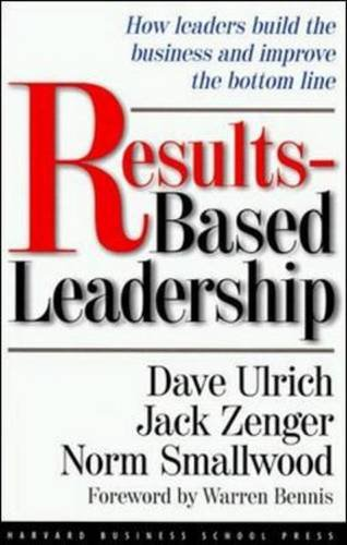 Results-Based Leadership   1999 edition cover