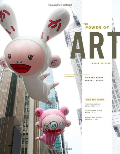 The Power of Art (With Arts Coursemate With Ebook Printed Access Card):   2013 9781133589716 Front Cover