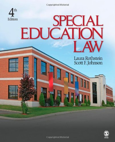 Special Education Law  4th 2010 edition cover