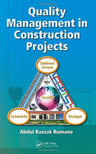 Quality Management in Construction Projects   2011 edition cover