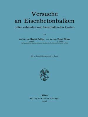 Versuche an Eisenbetonbalken   1936 9783709151716 Front Cover