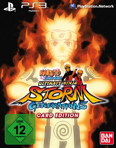 Naruto Shippuden: Ultimate Ninja Storm Generations (Card-Edition) PlayStation 3 artwork