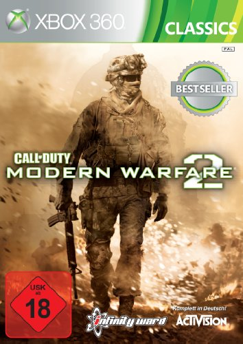 CALL OF DUTY MODERN WARF.2- CLASSIC Xbox 360 artwork