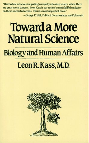 Toward a More Natural Science   1988 edition cover
