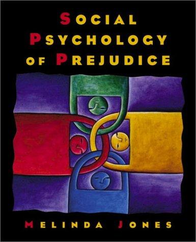 Social Psychology of Prejudice   2002 edition cover