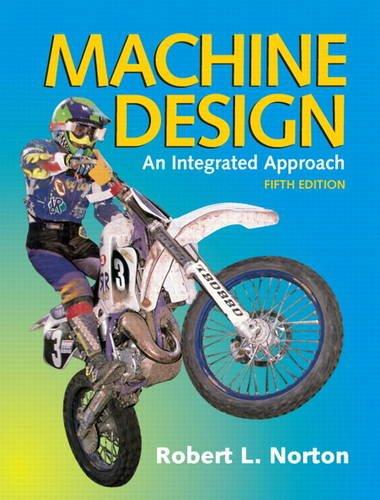 Machine Design  5th 2014 edition cover