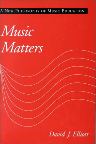 Music Matters A New Philosophy of Music Education  1995 edition cover