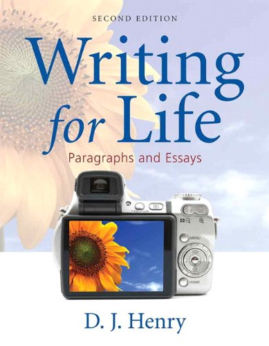 Writing for Life  2nd 2011 edition cover