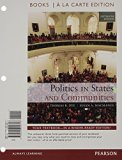 Politics in States and Communities: Books a La Carte Edition  2014 edition cover
