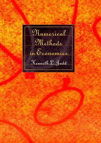 Numerical Methods in Economics   1998 edition cover