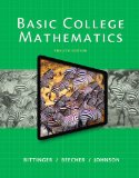 Basic College Mathematics Plus NEW MyMathLab with Pearson EText -- Instant Access  12th 2015 edition cover