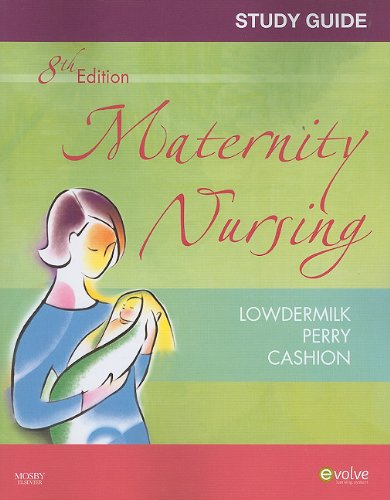 Study Guide for Maternity Nursing - Revised Reprint  8th edition cover