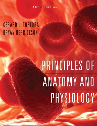 Principles of Anatomy and Physiology  12th 2009 edition cover